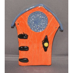 Orange fairy door
